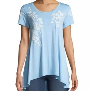 Scoop Neck Tee from Neiman Marcus